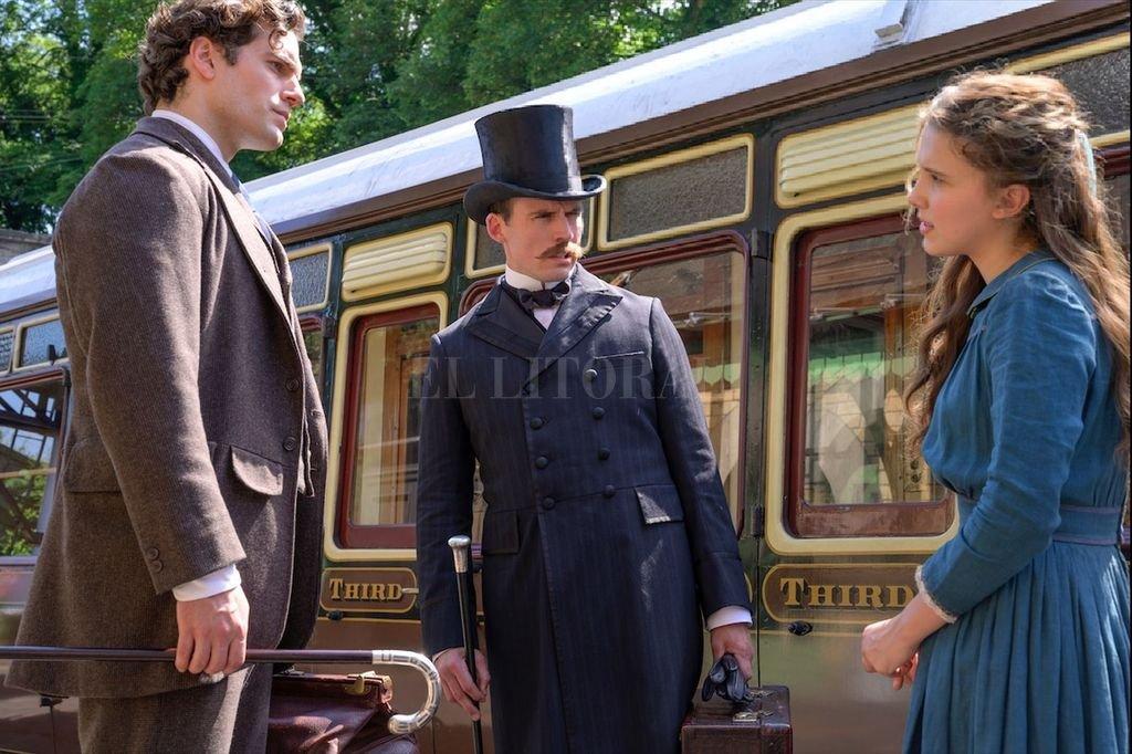 """La actriz de """"Stranger Things"""", Millie Bobby Brown, será la protagonista de """"Enola Holmes"""". Henry Cavill cumplirá el papel de Sherlock.  Crédito: Netflix / Legendary Pictures / PCMA"""