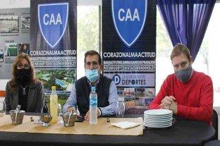 Cornaglia y Giaccone conformaron una mesa de trabajo con todos los clubes del departamento Belgrano