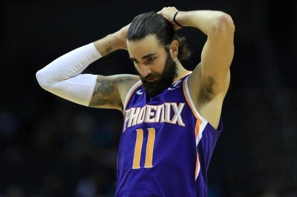 Rickey Rubio, un jugador de vital importancia para Phoenix Suns, que el viernes debutará en la reanudación de la liga más importante del mundo. Crédito: Gentileza NBA