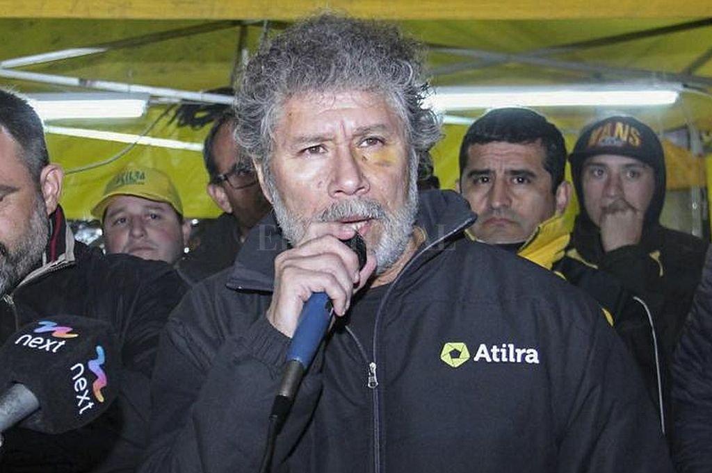 Héctor Ponce, secretario general de Atilra. Crédito: Captura digital