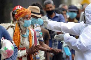 India superó la barrera de los 2,5 millones de casos de coronavirus