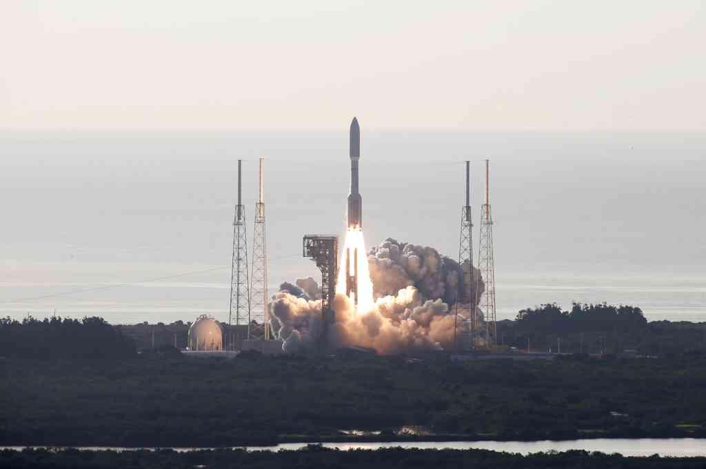 El nuevo vehículo espacial rover, también conocido como
