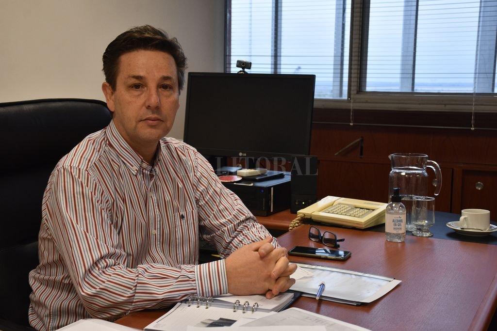 Claudio Vissio, subsec. de Proyectos de Inversión, Ministerio de Economía provincial. Crédito: Flavio Raina