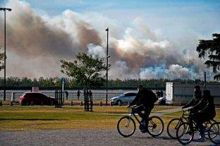 Hay incendios activos en el Delta del Paraná, en San Luis y Tucumán
