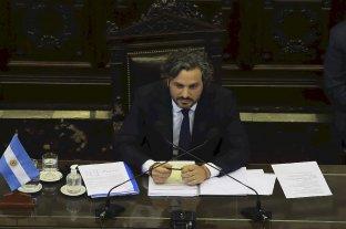 """Cafiero en Diputados: """"El discurso del odio debilita la democracia"""""""