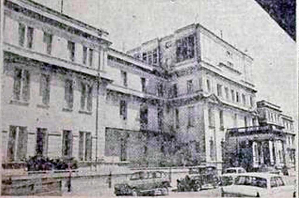 Así lucía el hospital en los inicios de la década de 1970 Crédito: Archivo El Litoral