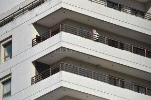 Juanito y el balcón