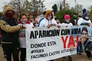 "Diputados expresaron ""preocupación"" por la desaparición de Facundo Astudillo Castro y citaron a Frederic"