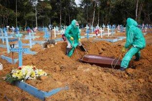 Se eleva a 134.935 la cifra de muertos por coronavirus en Brasil
