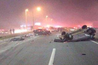Al menos 8 muertos dejó un choque en cadena con 22 vehículos en el sur de Brasil