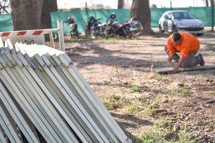 Se retoman los trabajos en el desagüe Espora