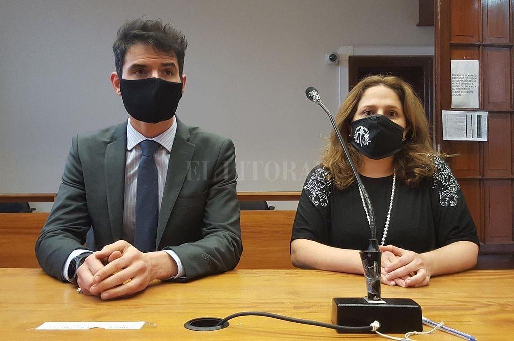 Los fiscales Federico Grimberg y Bárbara Ilera. Crédito: Prensa MPA