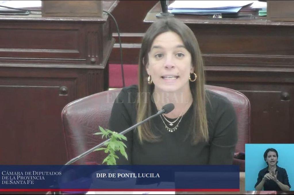 Lucila de Ponti Crédito: Archivo El Litoral