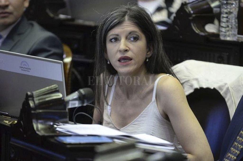 La diputada kirchnerista Fernanda Vallejos, presidenta de la comisión de Finanzas. Crédito: Archivo El Litoral