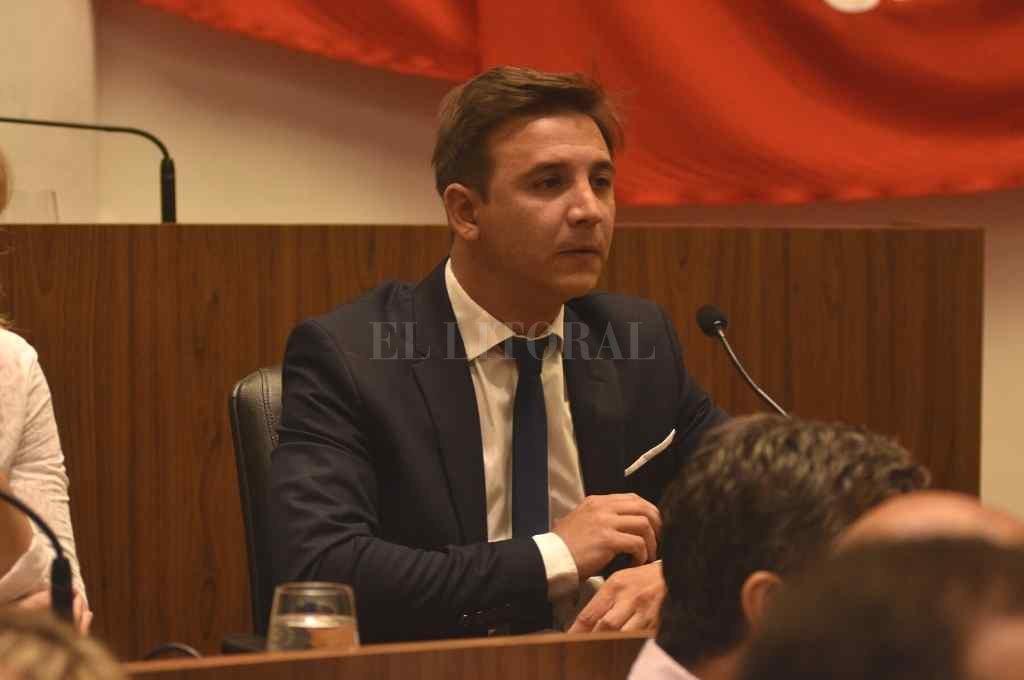 Sebastián Pignata, ex presidente del Concejo y actual concejal de la ciudad.    Crédito: Archivo El Litoral