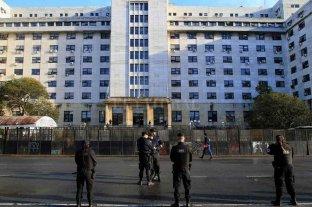 Continúa la polémica por la reforma judicial   - Los tribunales de Comodoro Py, en el centro de la polémica.    -