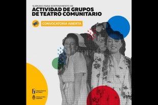 Nueva Convocatoria del INT para el Teatro Comunitario - Los grupos intersados se pueden inscribir entre el 1 de agosto y el 1 de octubre. -
