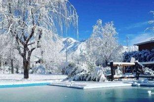 Mendoza registró nevadas inusuales en el mes de julio