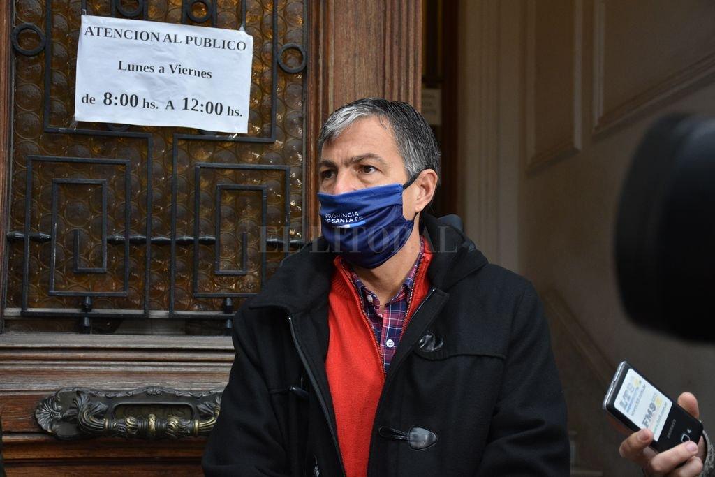 Gobierno analiza un aumento por decreto y dejar abierta paritaria - Juan Manuel Pussineri, secretario de Trabajo -