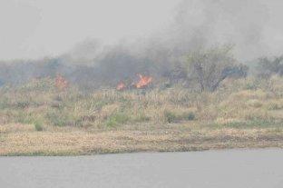 Nuevos incendios en islas frente a San Javier