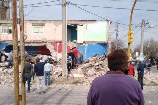 Murió una mujer por el derrumbe de una vivienda en San Luis