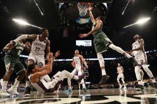 Milwaukee Bucks fue sorprendido por Brooklyn Nets