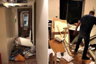 Explosión en Beirut: la embajada argentina quedó destruida -