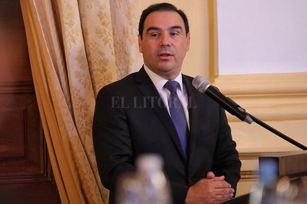 Gustavo Valdéz, gobernador de Corrientes. Crédito: Gentileza