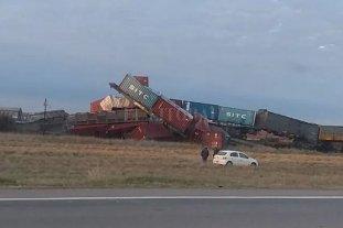Descarriló un tren que iba de Neuquén a Bahía Blanca