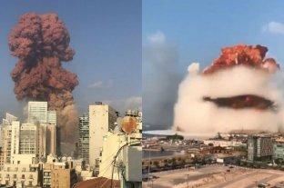 """""""Tenemos reflejos de guerra, pero nunca vimos esta destrucción en Beirut"""", contó joven profesora"""