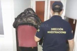Detuvieron en Paraná a un peligroso delincuente rosarino