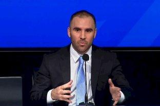"""Guzmán: """"En estos meses se dieron pasos importantes para tranquilizar la economía argentina"""" -  -"""