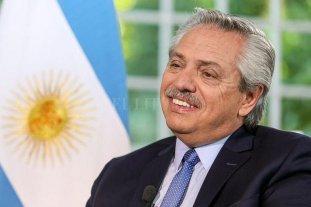 El presidente Alberto Fernández celebró el acuerdo por la deuda