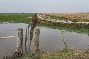 Ganaderos reclaman el escurrimiento natural de excesos hídricos
