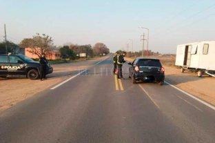San Javier no permite el ingreso de personas de Helvecia - Máximos controles en la Ruta 1 -