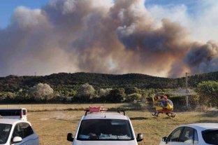 Al menos 2.700 evacuados en un incendio en el sur de Francia