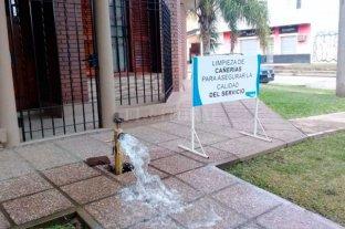 Habrá poca presión de agua en un sector de barrio Sur -  -