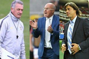 Tres técnicos argentinos en la lista para dirigir a la selección de Ecuador