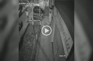 Video: Le dispararon y le robaron la moto a un hombre cuando iba a trabajar en Quilmes