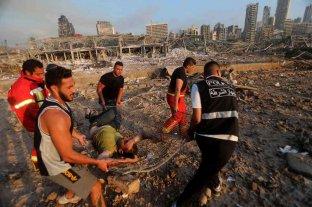 Bruselas coordina el despliegue de bomberos y otros medios de ayuda en Beirut