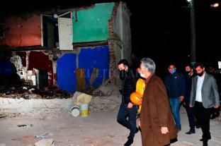 San Luis: Dos muertos tras derrumbarse una vivienda