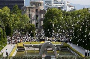 Japón recuerda a sus víctimas al cumplirse 75 años del bombardeo a Hiroshima y Nagasak