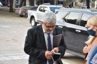 """Baclini: """"El sistema funciona bien; éste es un síntoma de autodepuración"""" - El Fiscal General de la provincia, Jorge Baclini -"""