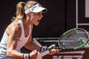 """""""Es un privilegio estar disputando torneos en este contexto"""", afirmó Podoroska"""