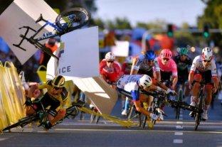 Un ciclista neerlandés quedó en coma tras un grave accidente en la Vuelta a Polonia
