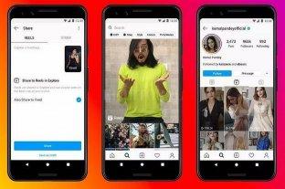"""Instagram lanzó Reels, el nuevo """"rival"""" de Tik Tok"""