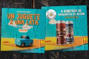 Cervecería marplatense intercambia cerveza por juguetes para el Día del Niño