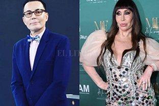 """Piden reemplazar a Moria Casán por Marcelo Polino en el """"Cantando 2020"""""""