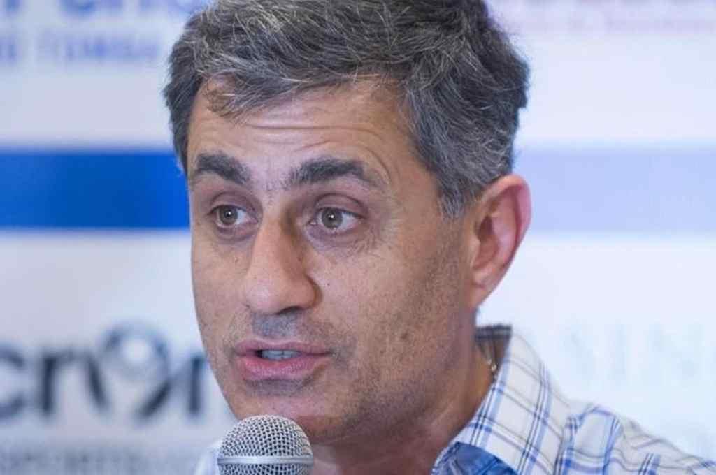 El Presidente de Godoy Cruz anticipó que el lunes será la presentación formal del DT Diego Hernán Martínez     Crédito: Gentileza Los Andes