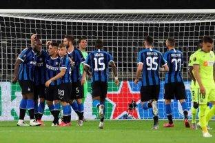 Inter avanzó a los cuartos de final